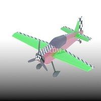 比赛滑行飞机