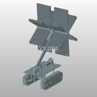 中央空调风管清洗机器人的结构设计【含3张CAD图纸及UG三维仿真】