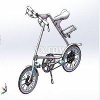折叠自行车