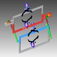 管道外爬行机器人的设计与仿真【3D+CAD图纸】