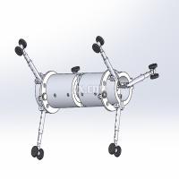 管道爬行器的研究与设计【全套包含CAD图纸三维建模】