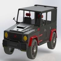 梅赛德斯-奔驰(mercedes - benz)brabus g级全时四驱越野