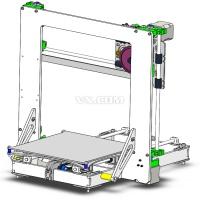 stp 3D打印机设计图