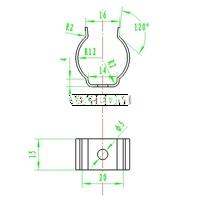 摩托车弯板冲压及弯曲工艺分析及模具设计【原创】(全套含CAD图纸)