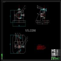 离合器接合叉零件加工工艺规程及钻-铰两内孔2-φ9.5H9夹具设计(全套含CAD图纸)