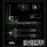 手动液压叉车CAD图纸