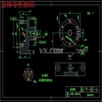 泵体零件数控加工工艺、编程及夹具设计【钻Φ15孔、铣泵体左端面两套夹具含6张CAD图纸】