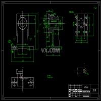 支座零件工艺规程及专用夹具设计(全套含CAD图纸)