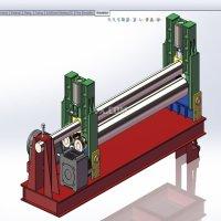STP 钢板辊压机