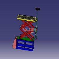 升降台实物模拟