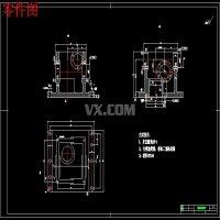 蜗轮减速器箱体的加工工艺规程及铣上平面、镗φ40和φ35孔夹具设计【含7张CAD图纸】-jjsj22