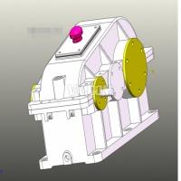 实用减速器二级减速器三维图