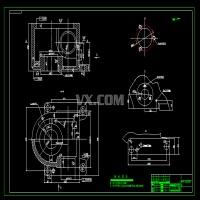 蜗杆减速器箱体右面3孔钻孔组合机床设计