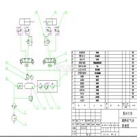 EQD4015发动机缸体翻转机结构及控制系统