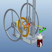"""1234无碳小车以重力势能驱动的具有""""S""""型绕障功能的自行小车设计"""