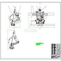 割草机压扁机悬挂装置设计