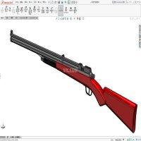 玩具枪模型