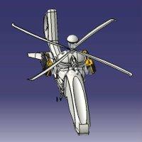 飞鱼直升机模型