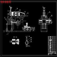 刨床液压系统改造设计【包含5张CAD图纸】
