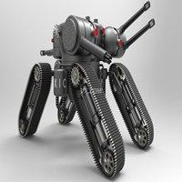 远程遥控射击机器人