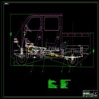 4座微型客货两用车设计(总体设计)(全套含CAD图纸)