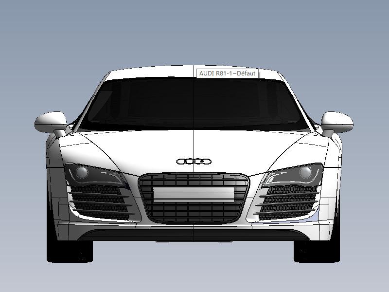 奥迪r8_solidworks_交通工具_3d模型_图纸下载_微小网