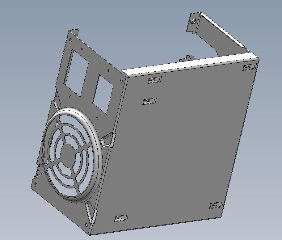 电脑机箱电源_SolidWorks_数码电子_3D模型_图纸下载 ...