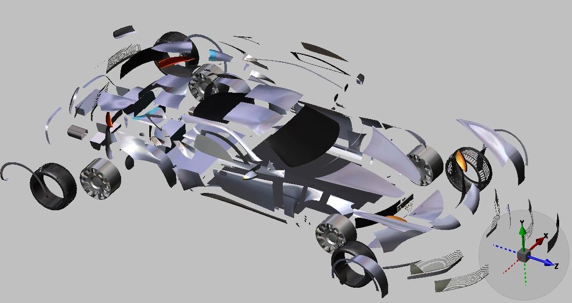 超级跑车_solidworks_交通工具_3d模型_图纸下载_微小