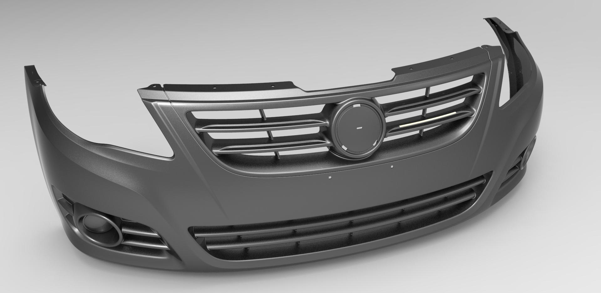 汽车前保险杠_catia_交通工具_3d模型_图纸下载_微小网