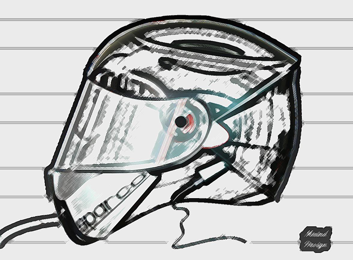 赛车头盔_solidworks_运动器械_3d模型_图纸下载_微小