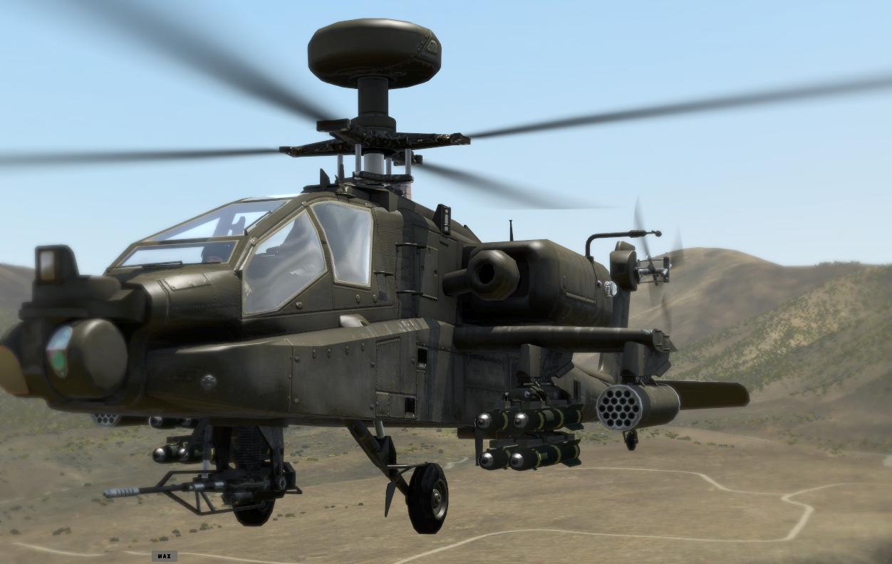 ah-64武装直升机