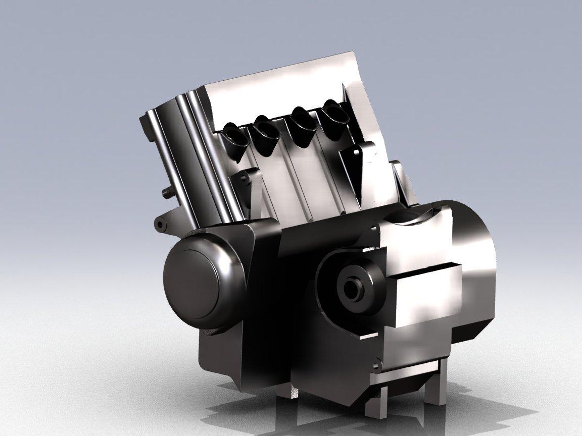 本田cbr600发动机图片