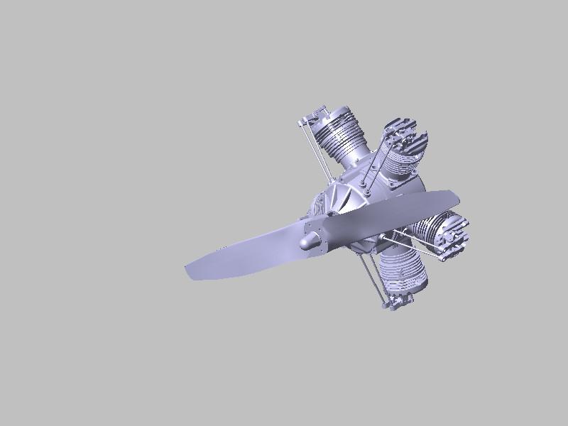 飞机引擎_catia_航天航空_3d模型_图纸下载_微小网