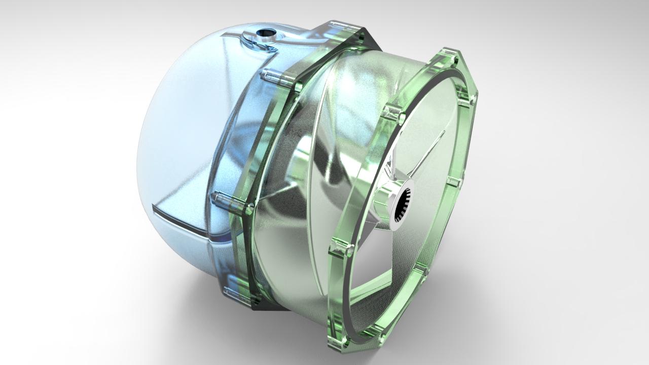 喷水推进器叶轮