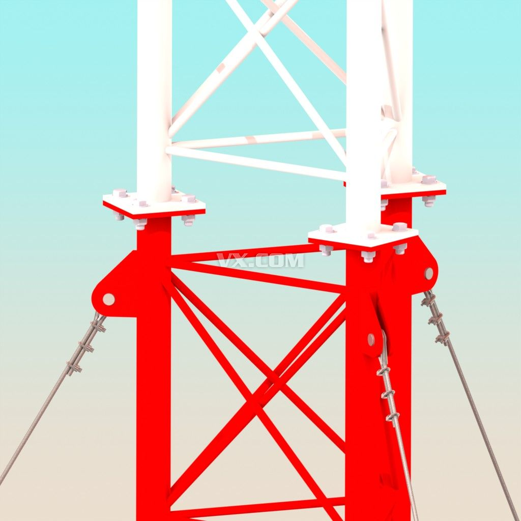 蜂窝通信塔 3d打印设计图 cad设计图纸_建筑机械_建筑工程类_3d打印