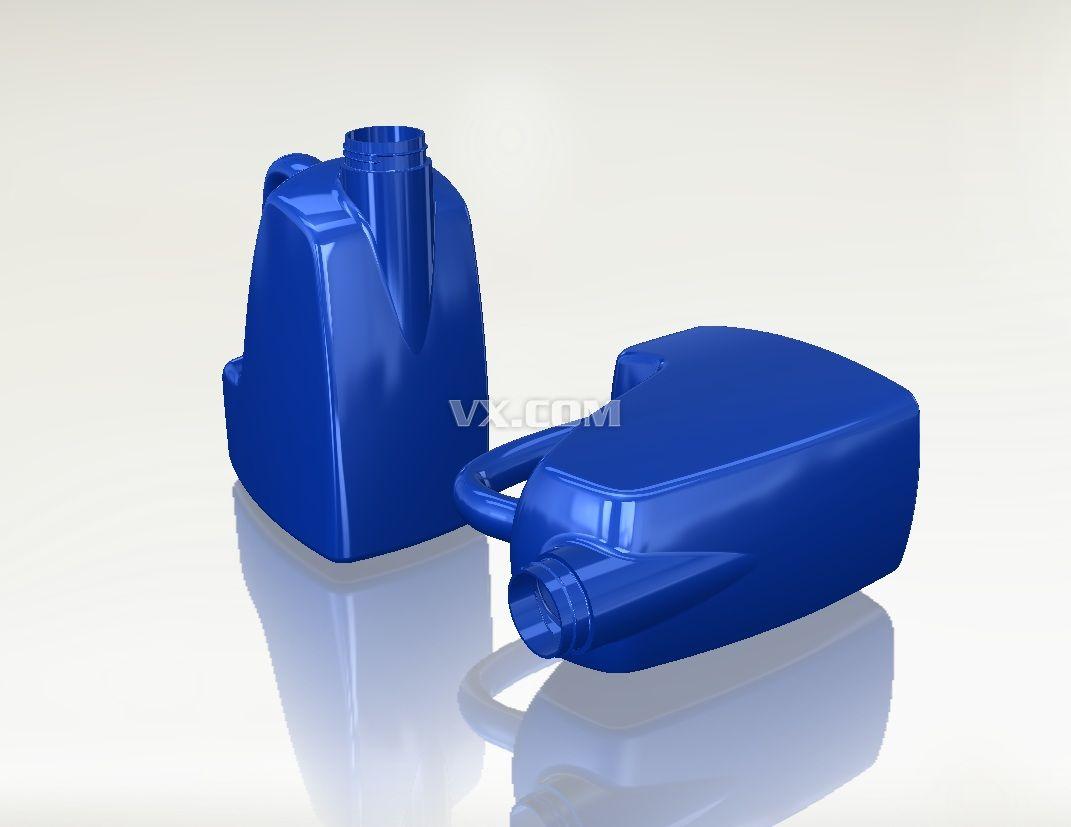 塑料桶_solidworks_家具