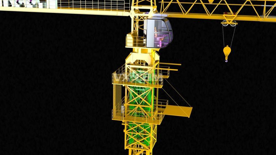 塔式起重机_nx_机械设备
