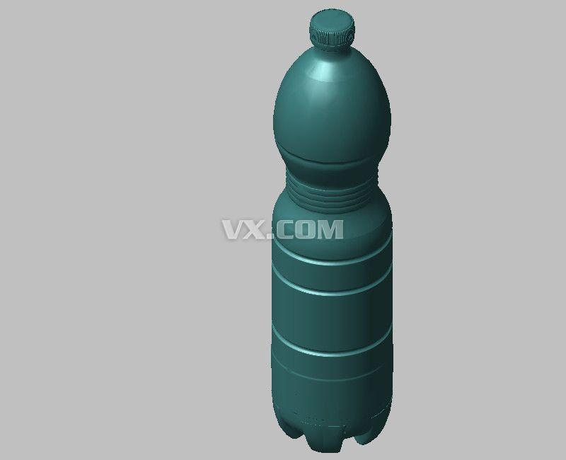 矿泉水瓶_iges/igs_生活设施_3d模型_图纸下载_微小网图片