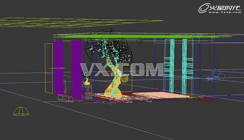 3d max教程:树屋室内效果图制作流程解析