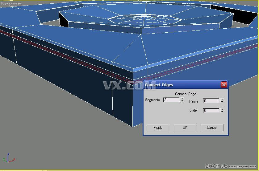 3dmax建模教程:给苹果播放器建模