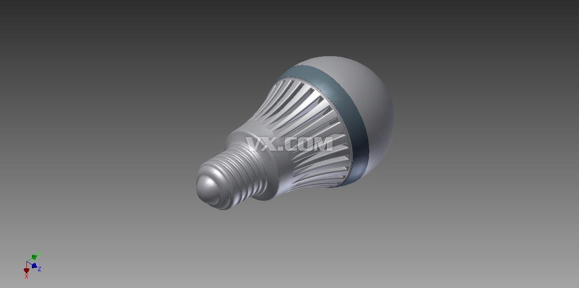 灯泡,通过电能而发光发热的照明源,由爱迪生发明.
