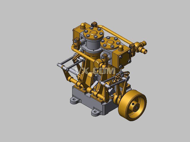 遥控飞机汽油发动机