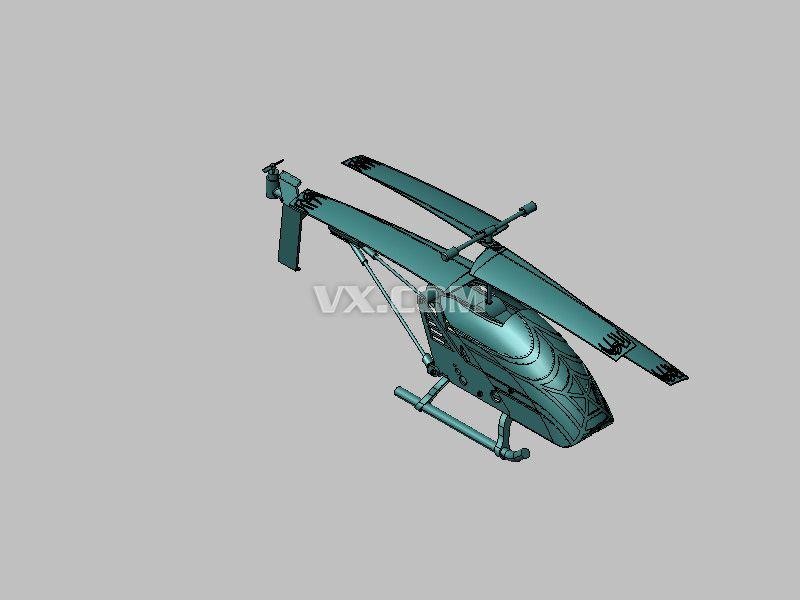 玩具直升飞机_catia_玩具礼品