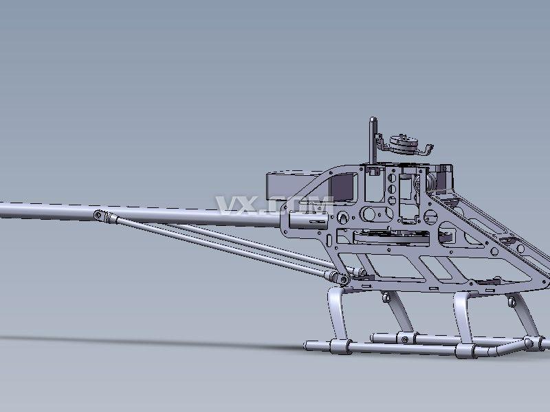 玩具直升飞机_solidworks