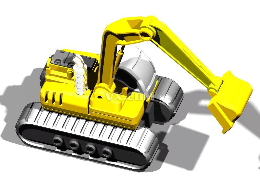 挖掘机玩具