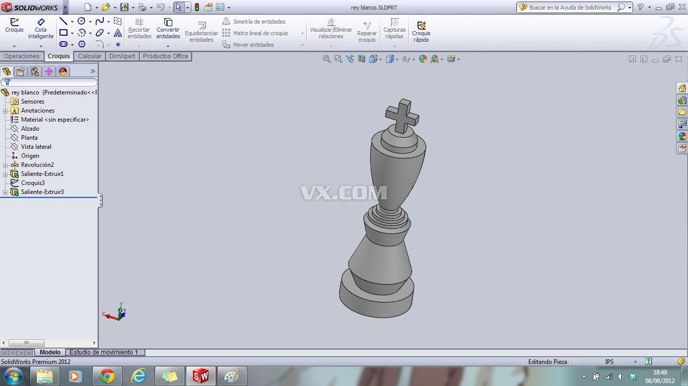 国际象棋_solidworks_运动器械
