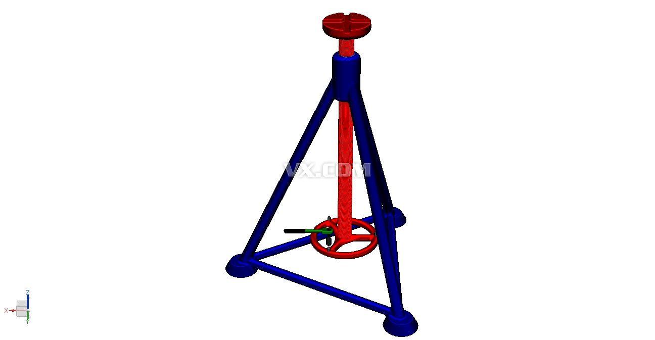 千斤顶_solidworks_机械设备_3d模型_图纸下载_微小网