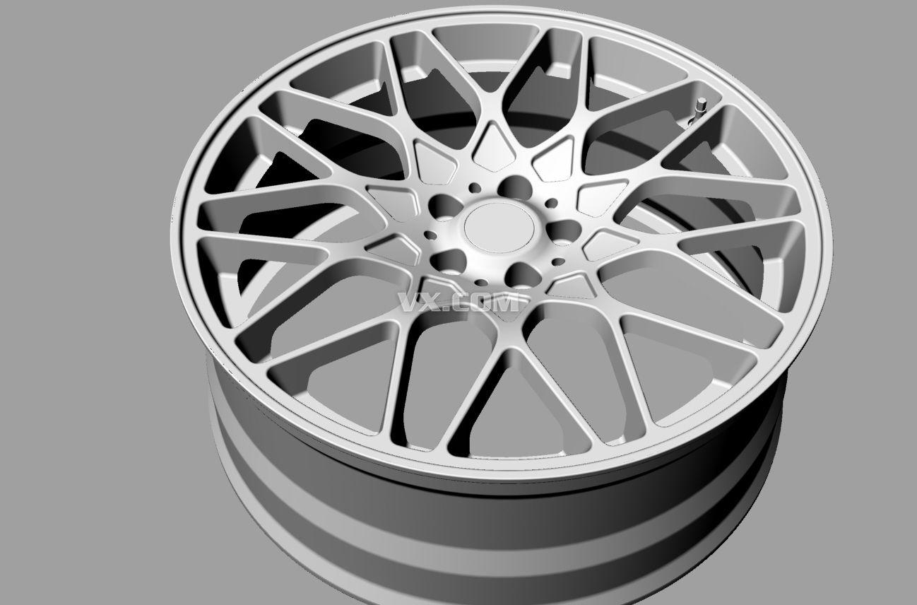 轮毂手绘设计图