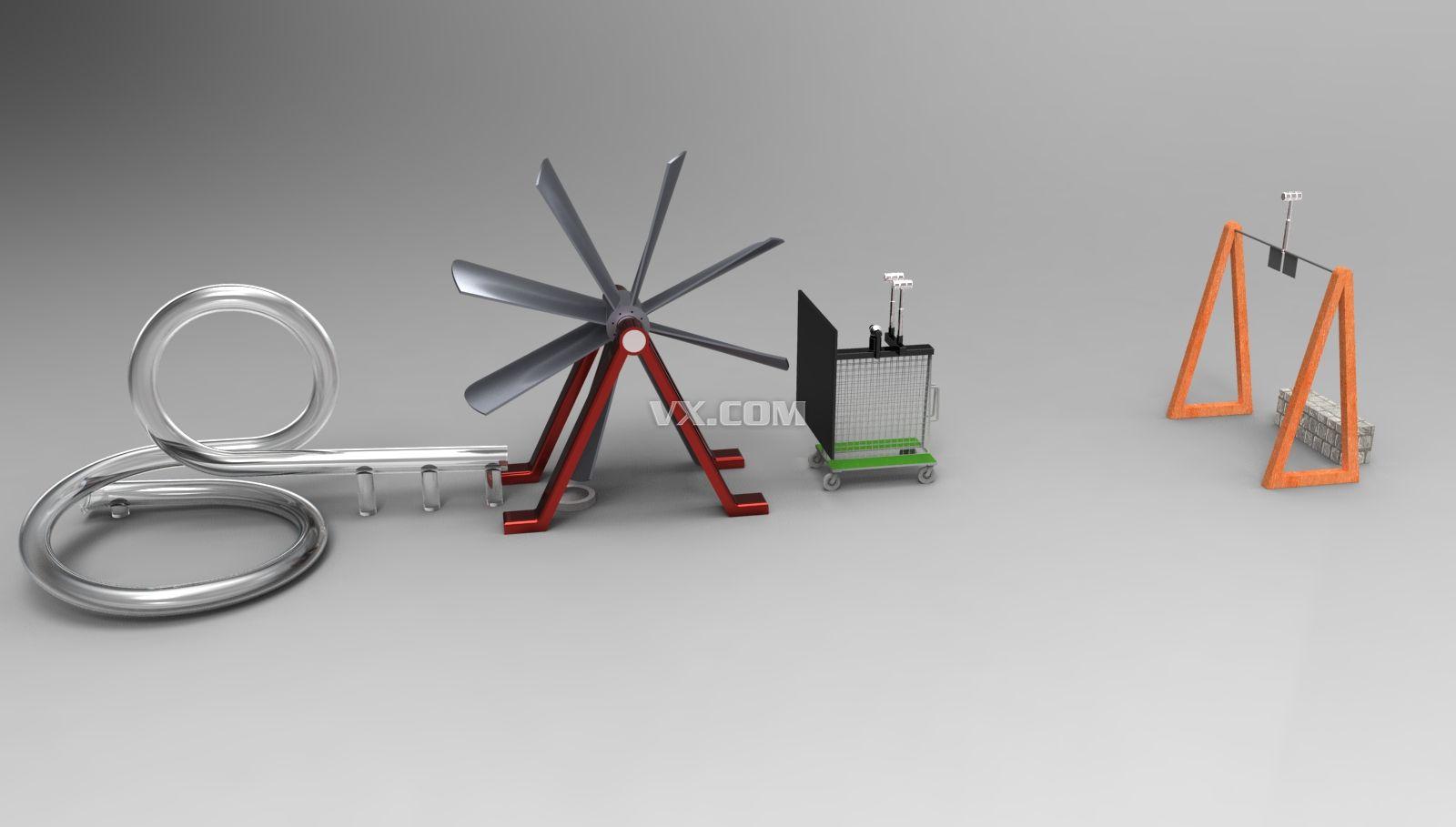 鲁布戈德堡机械设计图展示