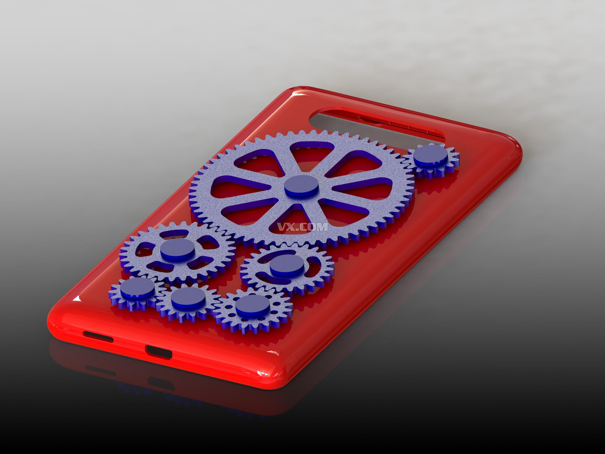 lumia820工程师专用齿轮手机壳